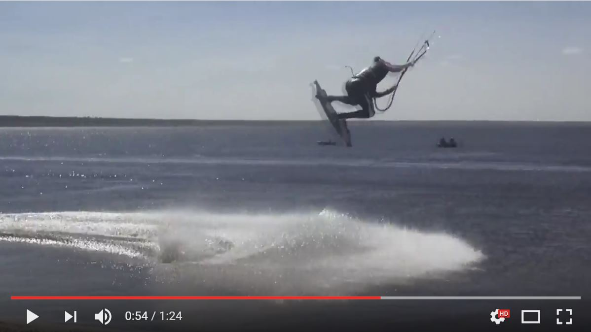 Freestyle school Forward and Kite club Odessa team rider Serbin Michael